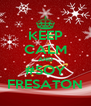 KEEP CALM AND #SOY FRESATON - Personalised Poster A4 size