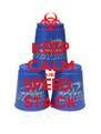 KEEP CALM AND SPEED  STACK - Personalised Poster A4 size