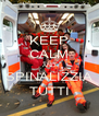 KEEP CALM AND SPINALIZZIA TUTTI - Personalised Poster A4 size