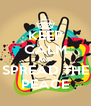 KEEP CALM AND SPREAD THE PEACE - Personalised Poster A4 size