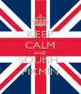 KEEP CALM AND SQUISH  PIKMIN - Personalised Poster A4 size