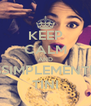 KEEP CALM AND SSIMPLEMENTE TINI - Personalised Poster A4 size