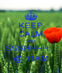 KEEP CALM AND SSSHHHH... @ 11AM - Personalised Poster A4 size
