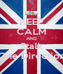 KEEP CALM AND Stalk One Direction - Personalised Poster A4 size