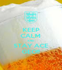 KEEP CALM AND STAY ACE GEO!! - Personalised Poster A4 size