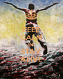 KEEP CALM AND STAY ALIVE - Personalised Poster A4 size