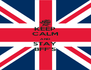 KEEP CALM AND STAY BFF'S - Personalised Poster A4 size