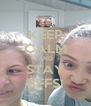 KEEP CALM AND STAY BFFS! - Personalised Poster A4 size