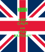 KEEP CALM and STAY BRITISH!!! - Personalised Poster A4 size