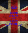 KEEP CALM AND STAY -__COOL__-  - Personalised Poster A4 size