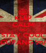 KEEP CALM AND STAY COOL CUPANG \m/ - Personalised Poster A4 size