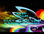 KEEP CALM AND STAY COOL LIKE RAINBOW DASH - Personalised Poster A4 size