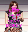KEEP CALM AND STAY DORKY - Personalised Poster A4 size
