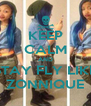 KEEP CALM AND STAY FLY LIKE ZONNIQUE - Personalised Poster A4 size