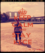 KEEP CALM AND STAY  KECE - Personalised Poster A4 size