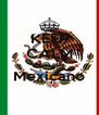 KEEP CALM AND stay Mexicano  - Personalised Poster A4 size