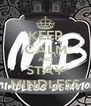 KEEP CALM AND STAY MINDLESS - Personalised Poster A4 size