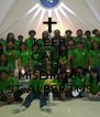 KEEP CALM AND STAY MISDINAR ST.ALBERTUS - Personalised Poster A4 size