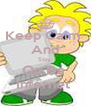 Keep Calm  And Stay  On Da  Internet  - Personalised Poster A4 size