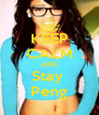 KEEP CALM AND Stay  Peng - Personalised Poster A4 size