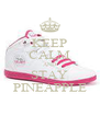 KEEP CALM AND STAY PINEAPPLE - Personalised Poster A4 size