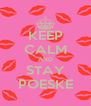 KEEP CALM AND STAY POESKE - Personalised Poster A4 size