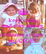 keep calm and stay strong because avalanna is now  an ANGEL - Personalised Poster A4 size