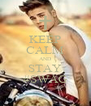 KEEP CALM AND STAY #SWAG - Personalised Poster A4 size