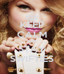 KEEP CALM AND STAY SWIFTIES - Personalised Poster A4 size
