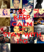 KEEP CALM AND STAY WITH 1°G - Personalised Poster A4 size