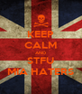 KEEP CALM AND STFU MIA HATERS - Personalised Poster A4 size