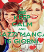 KEEP CALM AND STI CAZZI MANCANO 16 GIORNI  - Personalised Poster A4 size
