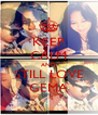 KEEP CALM AND STILL LOVE GEMA - Personalised Poster A4 size