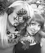 KEEP CALM AND STO LAT  MARYSIA - Personalised Poster A4 size