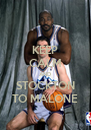 KEEP CALM AND STOCKTON TO MALONE - Personalised Poster A4 size