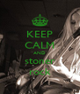 KEEP CALM AND stoner rock - Personalised Poster A4 size