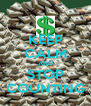 KEEP CALM AND STOP COUNTING - Personalised Poster A4 size