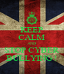 KEEP CALM AND STOP CYBER BULLYING ! - Personalised Poster A4 size