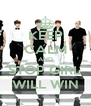 KEEP CALM AND STOP GIRL WILL WIN - Personalised Poster A4 size