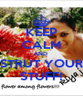 KEEP CALM AND  STRUT YOUR STUFF! - Personalised Poster A4 size