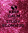 KEEP CALM AND STUDY  ECON1020  - Personalised Poster A4 size
