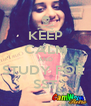 KEEP CALM AND STUDY FOR  SST - Personalised Poster A4 size