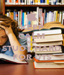 KEEP CALM AND STUDY HARD FOR UTS - Personalised Poster A4 size