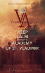 KEEP CALM AND STUDY IN ACADEMY OF ST. VLADIMIR - Personalised Poster A4 size