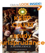 KEEP CALM AND study jurisprudance - Personalised Poster A4 size