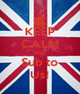 KEEP CALM AND Sub to Us! - Personalised Poster A4 size