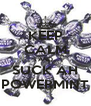 KEEP CALM AND SUCK AH POWERMINT - Personalised Poster A4 size