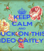 KEEP CALM AND SUCK ON THIS  VIDEO CAITLYN - Personalised Poster A4 size