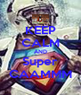 KEEP CALM AND Super CAAMMM - Personalised Poster A4 size