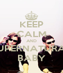 KEEP CALM AND SUPERNATURAL BABY - Personalised Poster A4 size